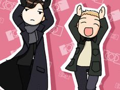 Click the link to read about 'Why You Should Be Glad That Summer Is Almost Over' ... and to see the cutest GIF of Sherlock and John dancing! lol