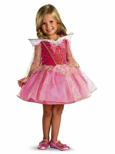 Disney Princess Aurora Ballerina Classic Toddler Costume includes dress with gold sparkle print and attached character cameo. Have your precious one awaken to a world full of wonder, magic and fantasy with her very own Disney Princess Aurora costume. Costume Princesse Disney, Princess Aurora Costume, Disney Princess Costumes, Disney Costumes, Baby Costumes, Toddler Ballerina Costume, Toddler Princess Costume, Toddler Dress, Princesa Disney Aurora