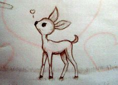 cute deer by ~Seara96 on deviantART