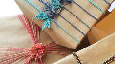 Forget Ribbon! Here's How to Wrap Your Presents with Yarn | Martha Stewart