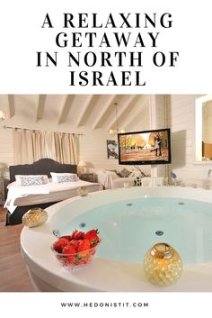 """ISRAEL : A RELAXING GETAWAY – HACHAVA BE'AMIRIM (""""THE FARM IN AMIRIM"""") 
