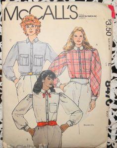 vintage 1980 sewing pattern mccalls 8470