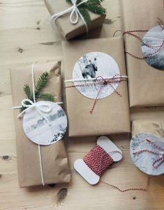 Present cards with photos Valokuvista pakettikortteja - Kotilo | Divaaniblogit