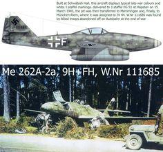 Me 262A-2a 9H-FH w.nr 111865