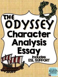 an analysis of the main character in the odyssey an epic poem by homer Main character of the odyssey son of laertes and anticleia homer a greek poet, author of the iliad and the odyssey struggle between opposing forces beginning in medias res starting in the middle, so most of the story is a flashback iliad epic poem that tells the story of the.