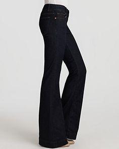 J Brand Lovestory Flare Jeans in Pure Wash | Bloomingdale's