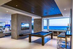 Home in Malibu by Burdge