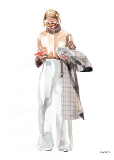 kasiq Fashion Illustration Series 5 on Behance