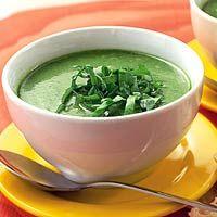 Recept - Maaltijdsoep van verse spinazie en kokos - Allerhande