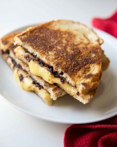 Make gourmet grilled cheese at home with easy balsamic fig jam. When you make grilled cheese with mayo the bread gets golden and crisp. Making Grilled Cheese, Best Grilled Cheese, Grilled Cheese Recipes, Dried Fig Recipes, Cheese Day, Charcuterie Recipes, Grilled Sandwich, Sandwich Recipes, Bombe Recipe