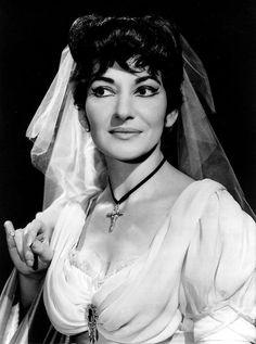Maria Callas nella Tosca