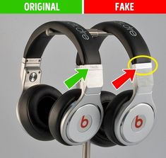 11 συμβουλές που θα σας βοηθήσουν να ξεχωρίσετε το αυθεντικό προϊόν από την απομίμηση. - Toftiaxa.gr Beats Headphones, Over Ear Headphones, Sac Michael Kors, Baskets Adidas, Teak, Louis Vuitton, The Originals, Plus Jamais, Sneakers