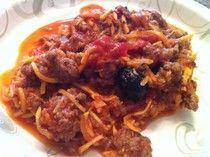 SCD Faux Spaghetti (*Use SCD legal tomatoes & sauce...)