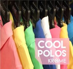 Put a full-stop to regular t-shirts & boring uppers. Grab cool & colorful polos from your nearest KROME at FLAT 50% off & more. #Krome #EndOfSeasonSale