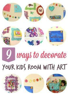 Kids room decoration