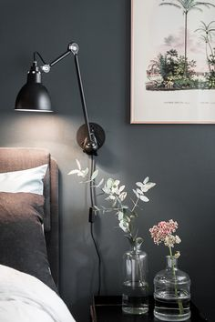 Home Lighting Trends Decoration - Home Lamp Interior Design House Decoration Items, Diy Home Decor, Room Decor, Bedroom Lighting, Home Lighting, Hanging Light Bulbs, Geometric Lamp, Dream Bedroom, Wall Colors