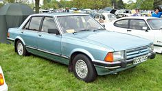 1984 Ford Granada Ghia MKII with 2792cc V6 OHV Engine (Photo by Robert Knight)