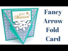 Hello everyone, I'm really pleased with today's project. Check out these cool Arrow Fold cards. After last weeks Twisted Gate Fold cards I was playing around with score lines and came u…