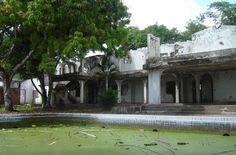 Hacienda Napoles ~~ Pablo Escobar's dilapidated mansion