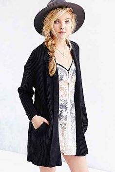 Kimchi Blue Cozy Robe Cardigan - Urban Outfitters