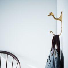 Brass Duck Hook