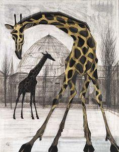 Céline E's albums: Painting the giraffe - Opus 2