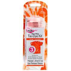 Tulip One-Step Tie-Dye Kit, Orange
