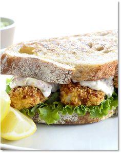 Low FODMAP Fish Finger Sandwich http://www.ibssano.com/low_fodmap_fish_finger_sandwich.html
