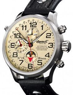 Ingersoll   Bison Nr. 19   Edelstahl   Uhren-Datenbank watchtime.net