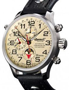 Ingersoll | Bison Nr. 19 | Edelstahl | Uhren-Datenbank watchtime.net