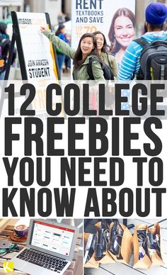 12 College Freebies You Need to Know About