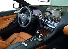 2015 BMW 6 Series Convertible Interiors