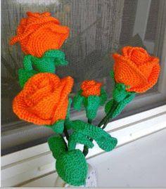 Horgolt holmik boltja: Rózsa Narancs