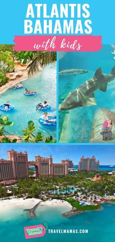 Tips for Visiting Atlantis Bahamas with Kids of All Ages from Babies to Teens! Thinking of a Caribbean vacation? Read about all there is to do on family vacation at this famous resort in The Bahamas,. Atlantis Bahamas, Les Bahamas, Nassau Bahamas, Family Vacation Destinations, Travel Destinations, Vacation Ideas, Family Vacations, Vacations For Kids, Beach Vacations