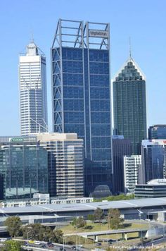 m - 45 fl; Brookfield Place, Perth Australia, Building Architecture, Skyscrapers, Multi Story Building, Tower, Places, Rook, Computer Case