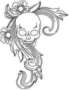 Skull Flourish_image