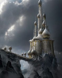 Fantasy Art Engine | Ice Castle by James Paick
