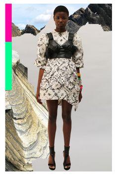 Fashion News, Fashion Beauty, Thornton Bregazzi, Lace Skirt, Sequin Skirt, London Spring, Kim Brown, Fashion Show Collection, Spring Summer Fashion
