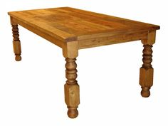 Rustic Dining Tables | Rustic pine Dining Table