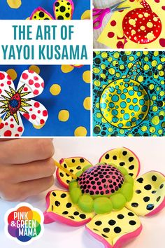 Art History Lessons, Art Lessons For Kids, Artists For Kids, Art Lessons Elementary, Art For Kids, Yayoi Kusama Pumpkin, Kid Friendly Art, School Art Projects, Art History Projects For Kids