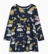 DIA CUKROVÍ...SUPROVKA   Mimibazar.cz Unicorn Print, Cute Unicorn, Floral Tops, Casual, Sweaters, Prints, Cotton, Girls, Dresses