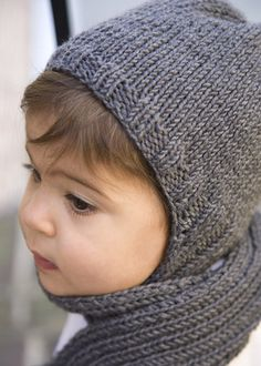 Free Knitting Patterns Childrens Hats And Scarves : Ravelry: Knit Medieval Hood Helmet Hat Free Pattern pattern by Maria Merlino ...
