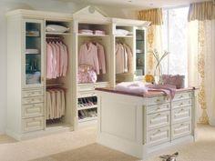 40 Pretty Feminine Walk-In Closet Design Ideas   DigsDigs
