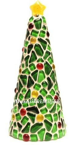Mosaic Diy, Mosaic Crafts, Mosaic Projects, Mosaic Wall, Mosaic Glass, Mosaic Tiles, Stained Glass, Tree Crafts, Xmas Crafts