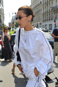 bella hadid is like the mother theresa of fashion