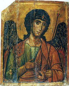 Архангел Михаил. Икона. Византия. XIII век. Египет. Синай. Монастырь св. Екатерины