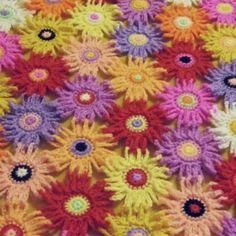 Spring garden blanket
