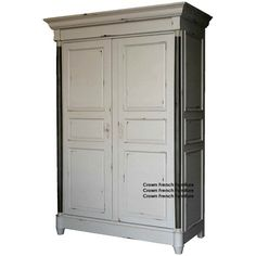 Lyon French 2 Door Large Armoire