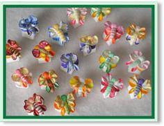 Bright Butterflies Bouquet Hand Decorated Sugar Cubes