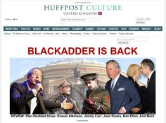BLACKADDER IS BACK - Star-Studded Show: Joan Rivers, Rowan Atkinson, Jimmy Carr, Ben Elton - find out more: http://www.huffingtonpost.co.uk/2012/11/28/blackadder-return-review_n_2207930.html?utm_hp_ref=uk